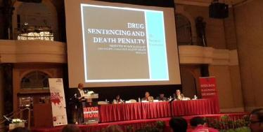 The death penalty for drugs: a central point during the regional congress