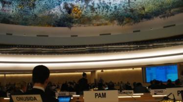 Los niños y niñas de personas condenadas a muerte llaman la atención de la ONU