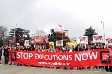 التحالف العالمي لمناهضة عقوبة الإعدام في صور