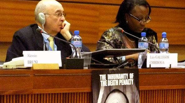El gran evento abolicionista fue invitado a la ONU