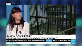 World Day Against the Death Penalty interview on France 24