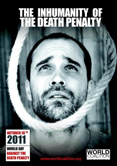 9° Día Mundial contra la Pena de Muerte: la pena de muerte es inhumana
