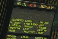UN General Assembly votes for 2012 moratorium resolution