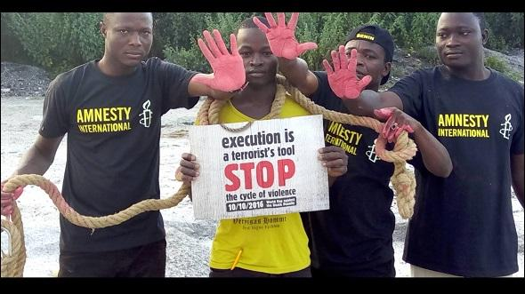 Africa raises its voice against the death penalty