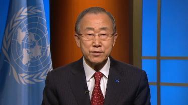 UN Secretary Ban Ki-moon: