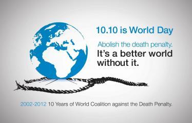 اليوم العالمي العاشر ضد عقوبة الإعدام