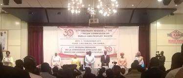 « A new Gambia » welcomes the 61st session of the ACHPR