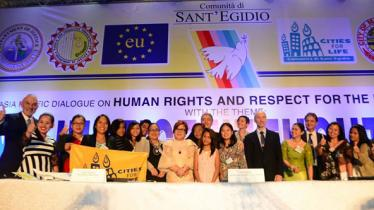 No Justice Without Life conference in Manila