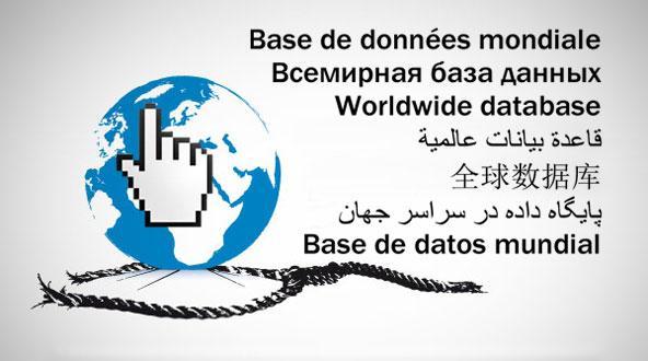پایگاه داده در سراسر جهان
