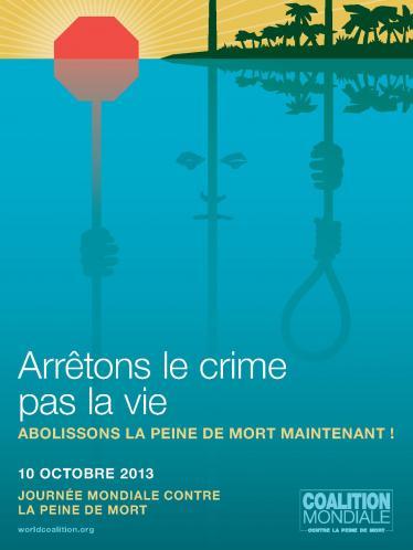 Affiches : Journées mondiales contre la peine de mort