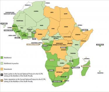 La campagne pour l'abolition de la peine de mort sur le continent africain