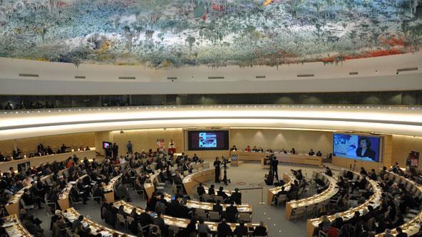 نقاش في مجلس حقوق الإنسان حول انتهاكات حقوق الإنسان المرتبطة باستخدام عقوبة الإعدام.