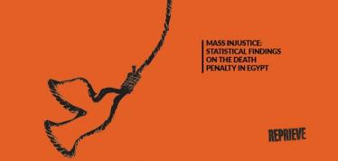 Increased use of the death penalty in Egypt since 2013