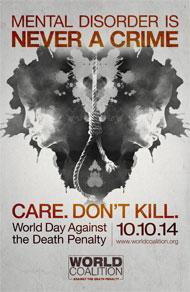 12th World Day Against the Death Penalty: Mental Health