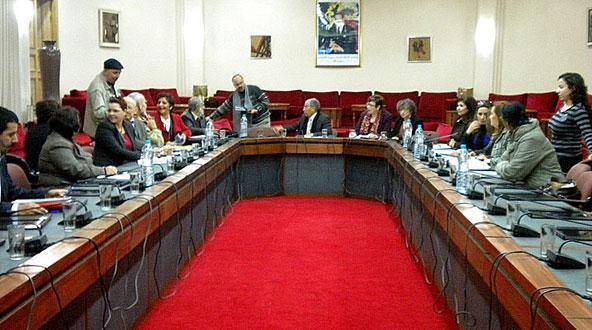 خطوة إضافية نحو إلغاء عقوبة الإعدام وذلك بإنشاء شبكة البرلمانيين المغاربة
