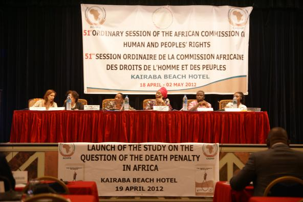 The death penalty at the heart of ACHPR debates